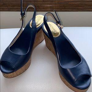 Michael Kors wedge shoes, size 6 1/2 Medium